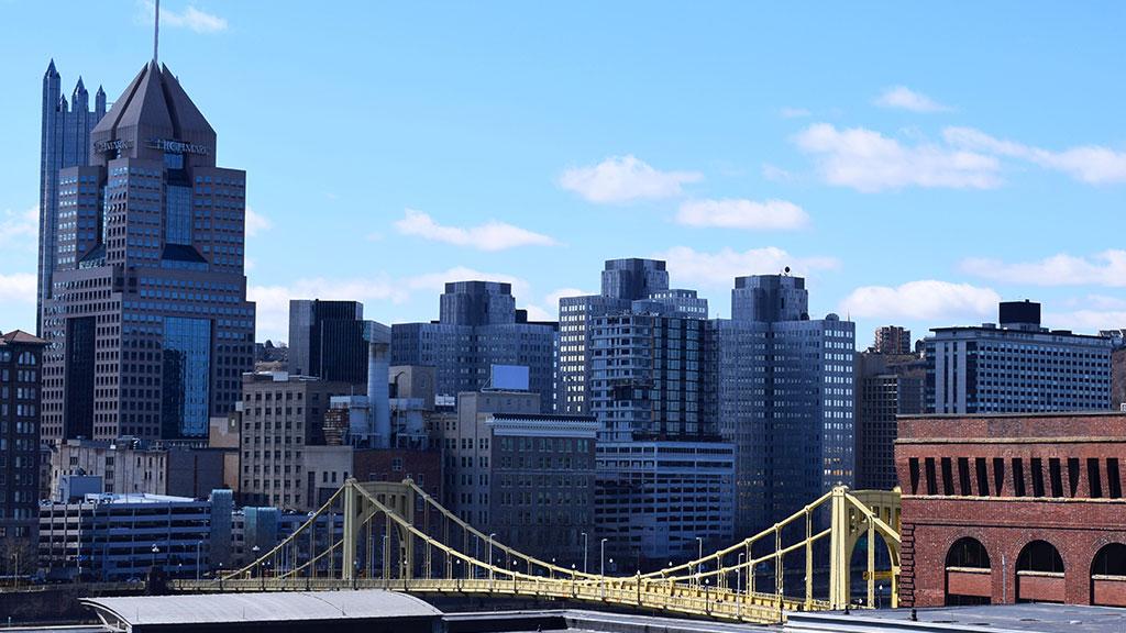 George L. Washington Pittsburgh Scene